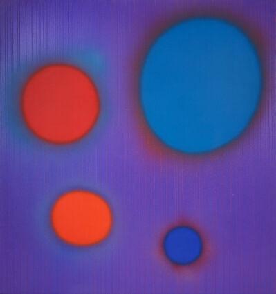 Dan Christensen, 'Holiday in Blue', 1993