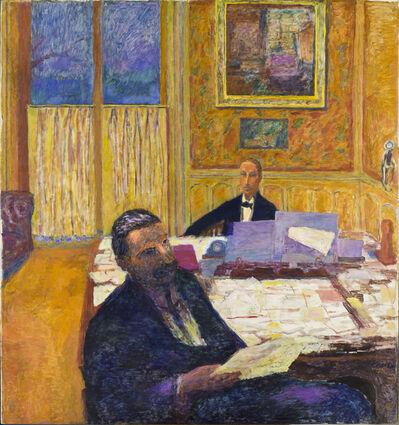 Pierre Bonnard, 'Les Frères Bernheim - Jeune [Josse Bernheim-Jeune et Gaston Bernheim de Villers] (The Bernheim-Jeune Brothers)', 1920