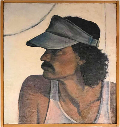 Richard Shaffer, 'Self-Portrait with Visor', 1983