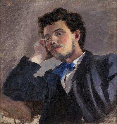 Ernst Josephson, 'Portrait of Jakob Hägg', 1874