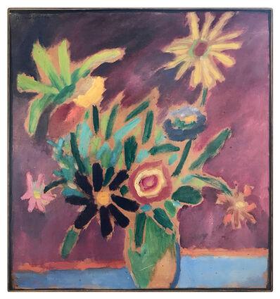 Alexej von Jawlensky, 'Bunte Blumen', 1915