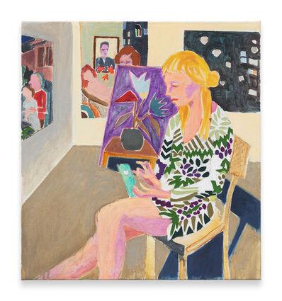 Armin Boehm, 'Emelie in the Artist's Studio', 2016