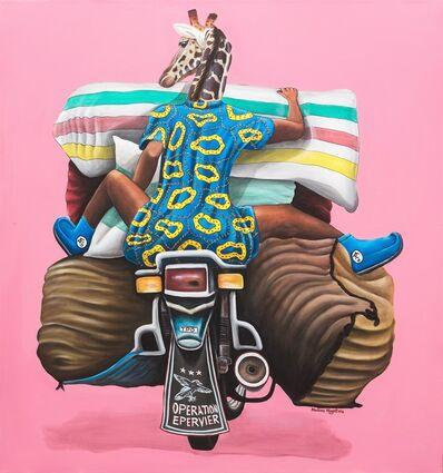 Abdias Ngateu, 'Opération épervier', 2018