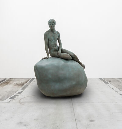 Elmgreen & Dragset, 'He (Copper Green)', 2013