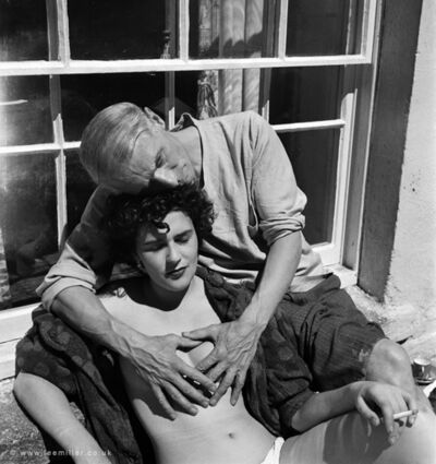 Lee Miller, 'Leonora Carrington and Max Ernst,Cornwall England', 1937