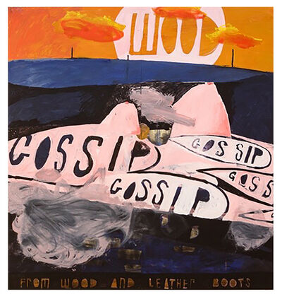 Samuel Bassett, 'GOSSIP. From Wood And Leather Boots', 2016