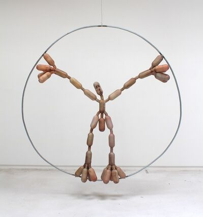 Tim Hawkinson, 'Averaged Vitruvian Man', 2016