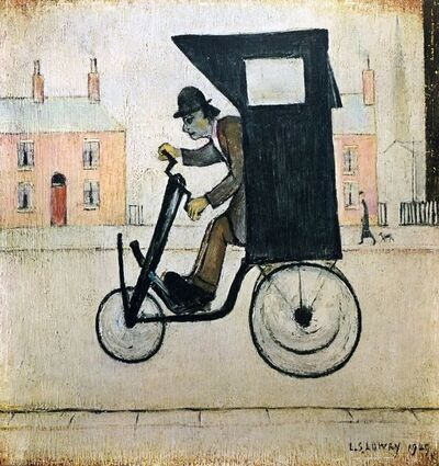 Laurence Stephen Lowry, 'The Contraption'