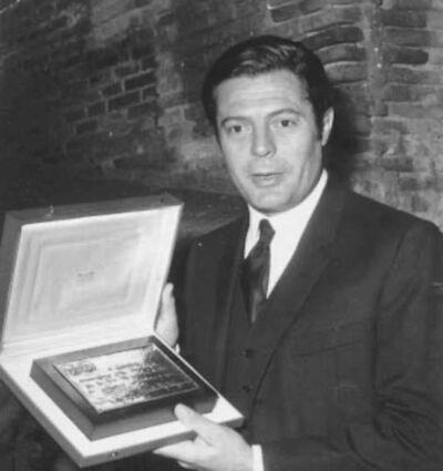 Unknown, 'The Italian Actor Marcello Mastroianni', 1980's