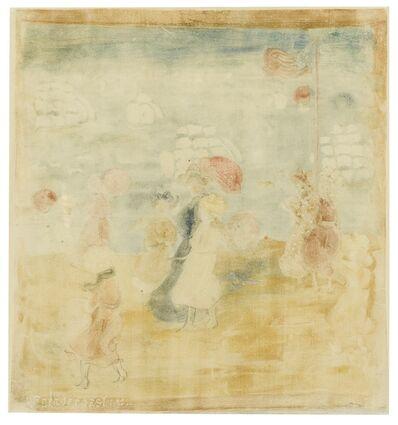 Maurice Brazil Prendergast, 'Telegraph Hill (Clark, Mathew & Owens 1675)', circa 1895-97