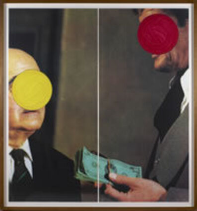 John Baldessari, 'Money With Space Between', 1994