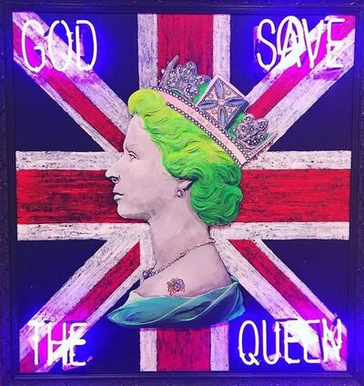Illuminati Neon, 'God save the Queen', 2018