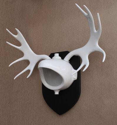 Vasily Slonov, 'Deer-Duchamp', 2019