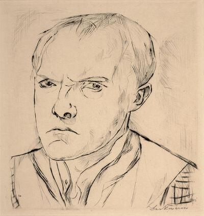 Max Beckmann, 'Self-Portrait', 1918
