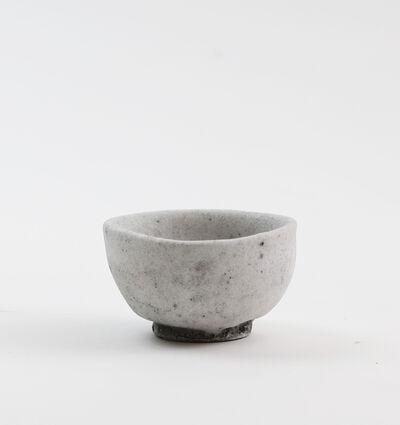 Yui Tsujimura, 'White Shino sake cup', 2017