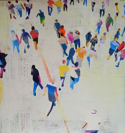 David Kapp, 'Ticket Lines', 2014