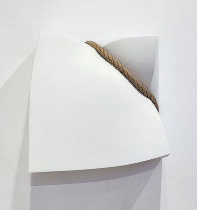 Stephan Marienfeld, 'Wall-Bondage Aluminium weiß', 2019