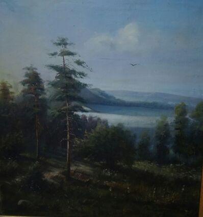 Stepan Fedorovich Kolesnikov, 'Landscape', ca. 1900