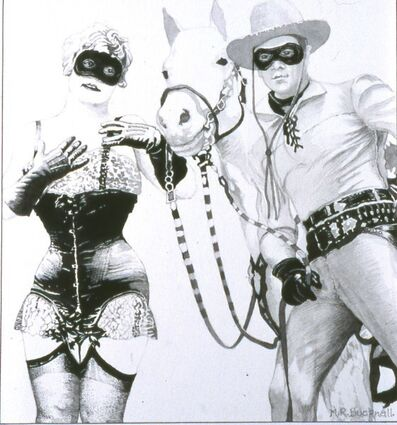 Malcolm Bucknall, 'Lone Ranger and the Masked Maiden'