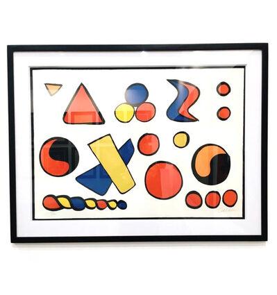 Alexander Calder, 'Composition aux formes Géométriques', 1965