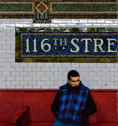 Daniel Greene, 'Red Bench - 116 St.', 2014
