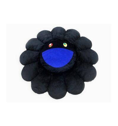 Takashi Murakami, 'FLOWER CUSHION 150 cm BLACK', ca. 2020