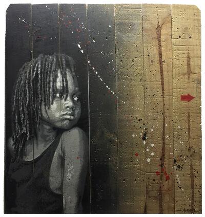 Jef Aérosol, 'Black girl ', 2019
