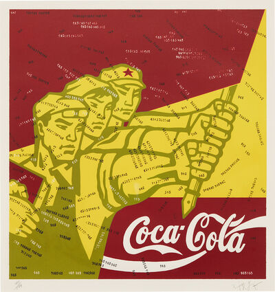 Wang Guangyi 王广义, 'Coca Cola, from Great Criticism Series', 1996