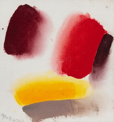 Friedel Dzubas (1915-1994), 'Pursuit II (Sketch)', 1972