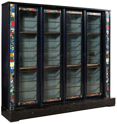Eduard Van Steenbergen, 'Painted Wood Bookcase', circa 1923