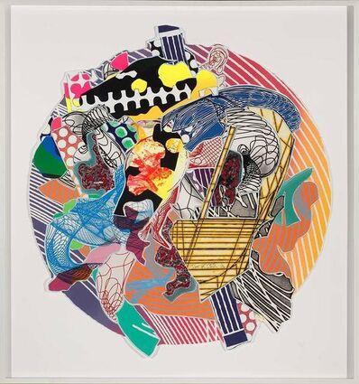 Frank Stella, 'Jundapur (A./K. 244)', 1996