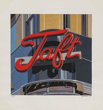 Robert Cottingham, 'Taft', 1991