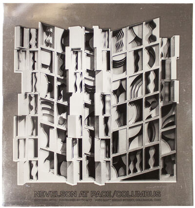 Louise Nevelson, 'At Pace Columbus (Silver)', 1977
