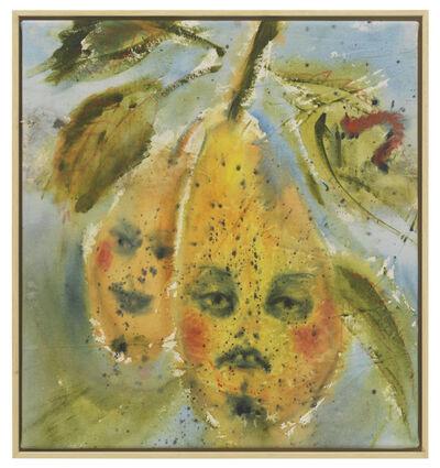 Andrej Dubravsky, 'Two sprayed pears (Clapps variety)', 2019