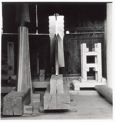 Walter Pichler, 'Frau aus Metall', 1990