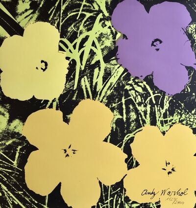 Andy Warhol, 'Flowers', 1986