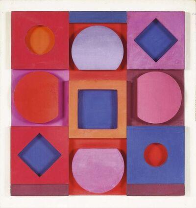 "Victor Vasarely, '""Granat"" négatif ', 1967"