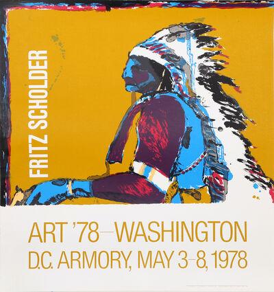 Fritz Scholder, 'Art '78 - Washington', 1978