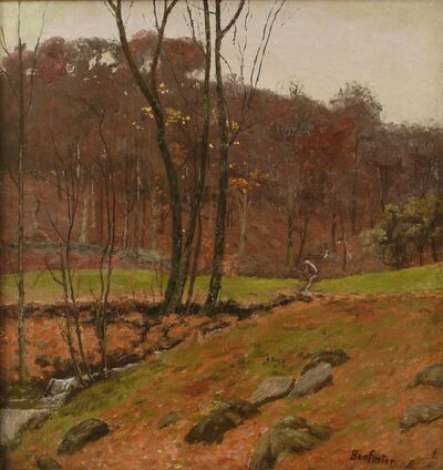 Ben Foster, 'Woodland Stream', ca. 1910