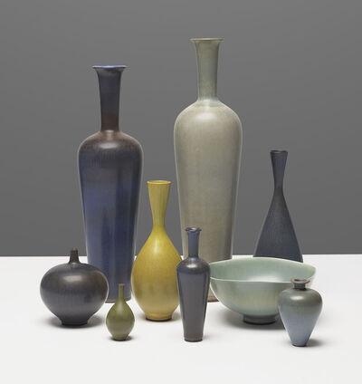 Berndt Friberg, 'A group of ten vessels', 1960s