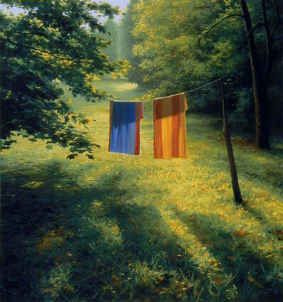 Scott Prior, 'Two Towels', 1997