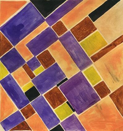 Sonia Delaunay, 'Geometric Fabric Design', ca. 20's-30's