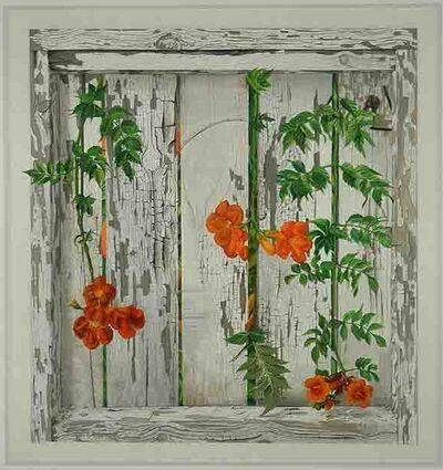 Patrick Kirwin, 'Trumpet Vines on White Fence ', 2010
