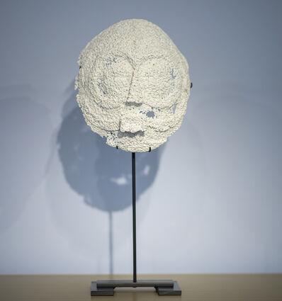Christian Gonzenbach, 'Afrique fantôme (masque rond)', 2020