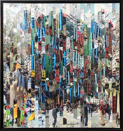 Serge Medjinsky, 'Photography Collage by Serge Mendjisky, Beaubourg', 2015