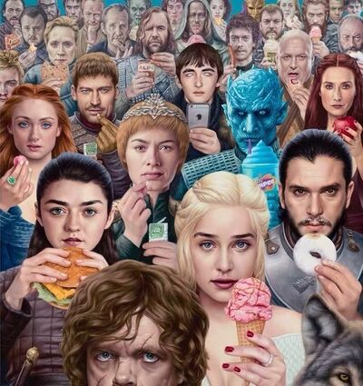 Alex Gross, '【Game of Thrones】limited edition print', 2019