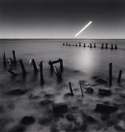 Michael Kenna, 'Hunter's Moon over Black Sea, Odessa, Ukraine', 2013