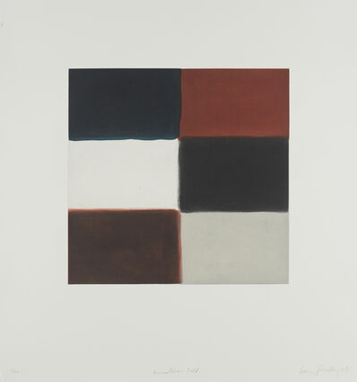 Sean Scully, 'Himmelblau Fold', 2003