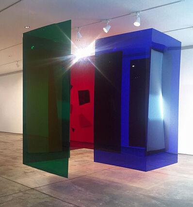 Carlos Cruz-Diez, 'Labyrinthe Transchromies Rachel Inspirada em obra exposta no Museu de Arte Contemporânea de Caracas em 1980', 1980