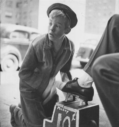 Stanley Kubrick, 'Mickey, The Shoeshine Boy', 1947